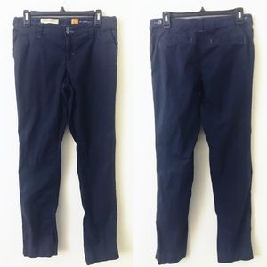 ANTHROPOLOGIE Pilcro Navy Blue Hyphen Pants